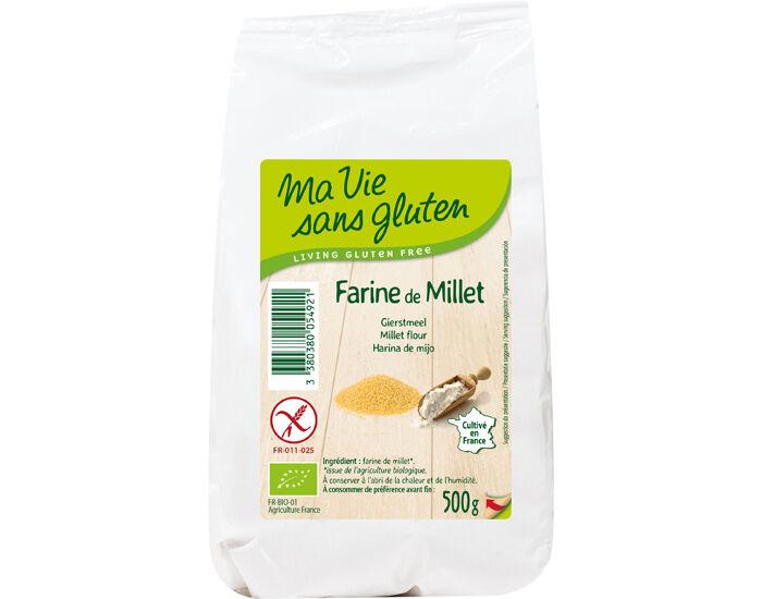 MA VIE SANS GLUTEN Farine de Millet - 500 g