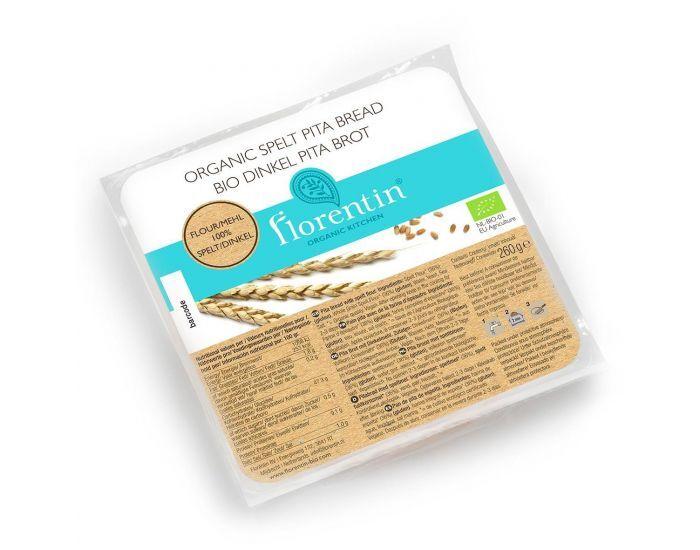 FLORENTIN Pain Pita Epeautre Bio (sachet de 4 pains) - 260g