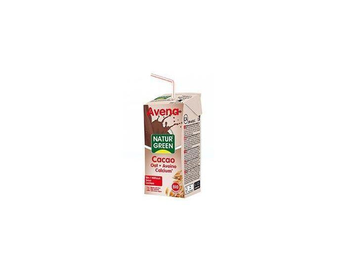 NATURGREEN Boisson Avoine-Choco-Calcium Bio - 6x200ml