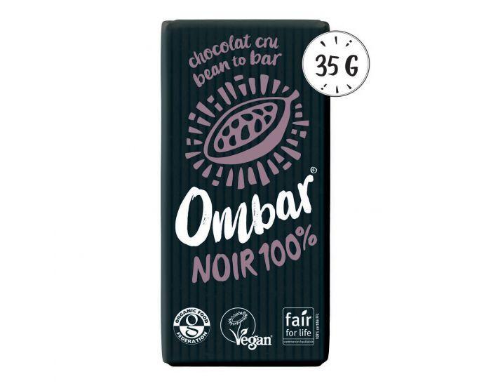 OMBAR Chocolat Cru 100% Cacao Bio - 35g