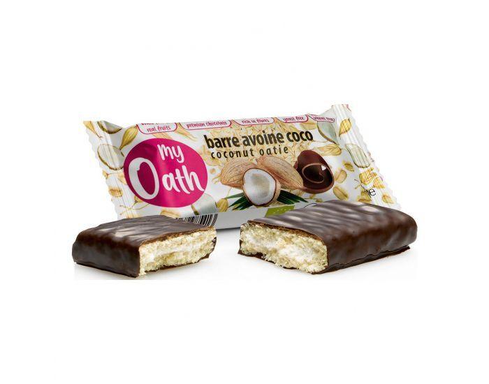 MY OATH Barre Avoine-Coco enrobée de chocolat Bio - 50g