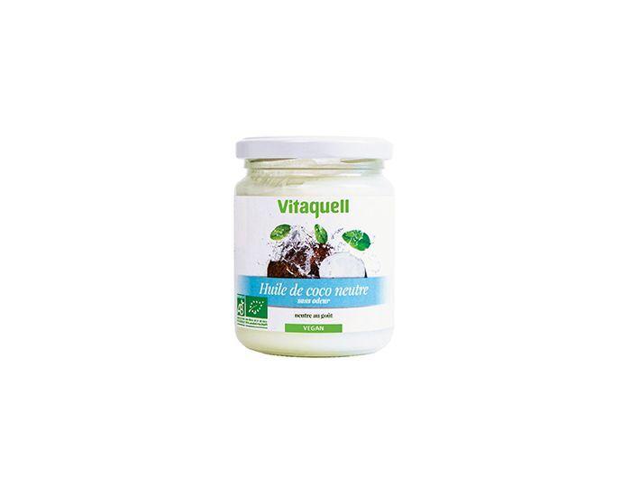 VITAQUELL Huile de Coco Neutre Bio 200 grammes