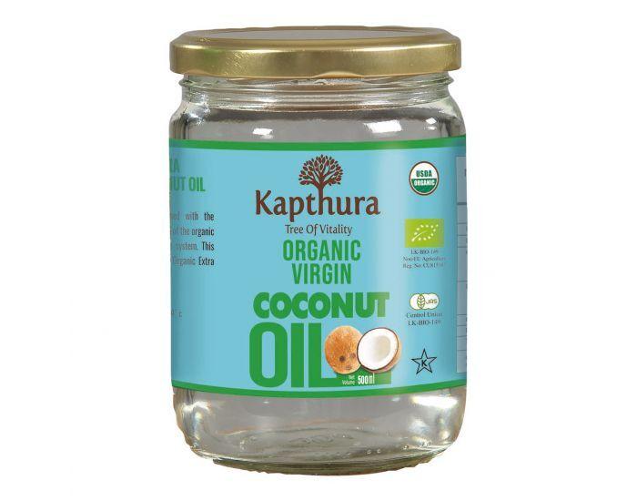 KAPTHURA Huile De Coco Vierge Bio 500 ml