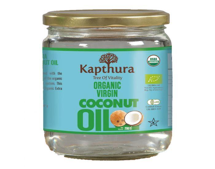 KAPTHURA Huile De Coco Vierge Bio 200 ml