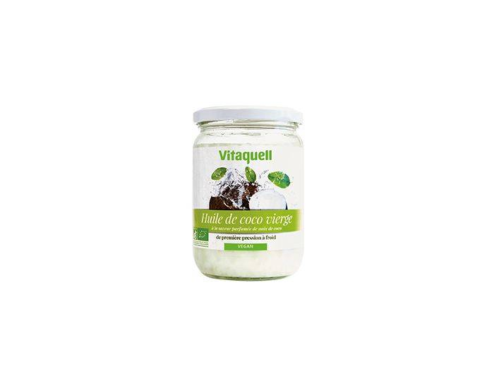 VITAQUELL Huile de Coco Bio 400 grammes