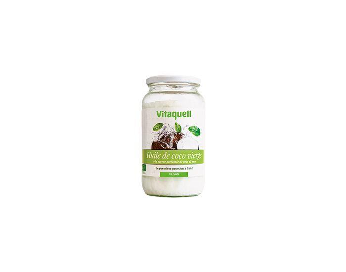 VITAQUELL Huile de Coco Bio 800 grammes
