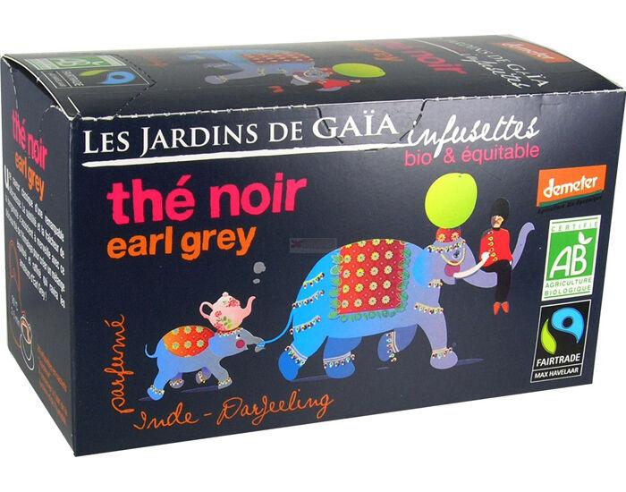 LES JARDINS DE GAIA Thé Noir Earl Grey - Infusettes