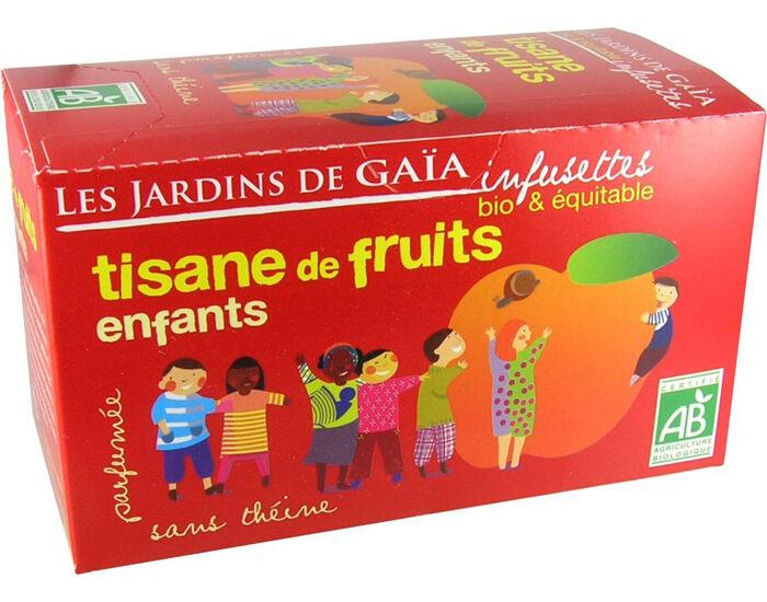LES JARDINS DE GAIA Tisane de Fruits Enfants - Infusettes