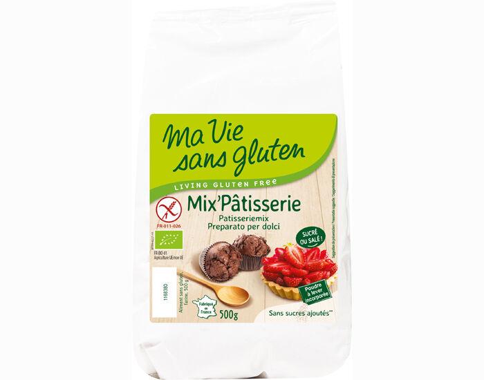 MA VIE SANS GLUTEN Mix'Pâtisserie Bio Sans Sucres AJoutés - 500 g