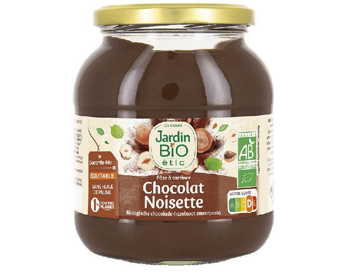 JARDIN BIO Pâte à Tartiner Noisette Cacao Familial - 750 g