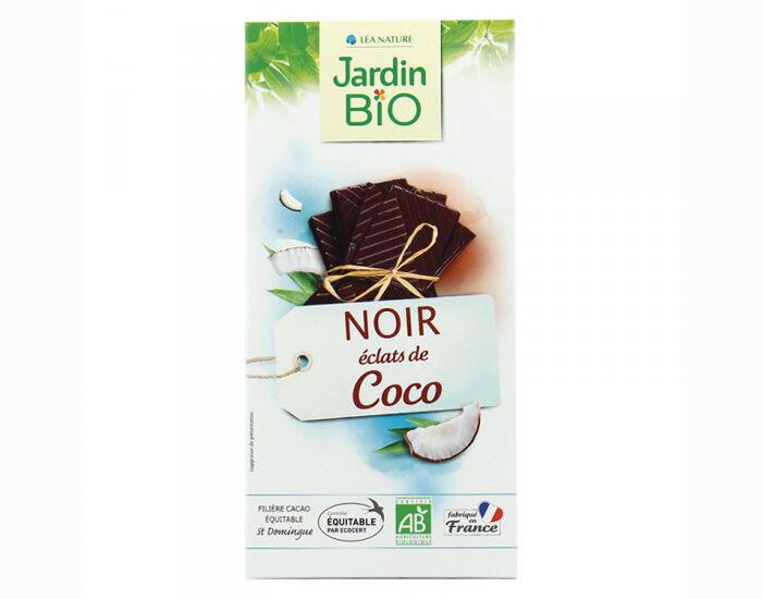 JARDIN BIO Chocolat Noir Éclats de Coco - 100 g