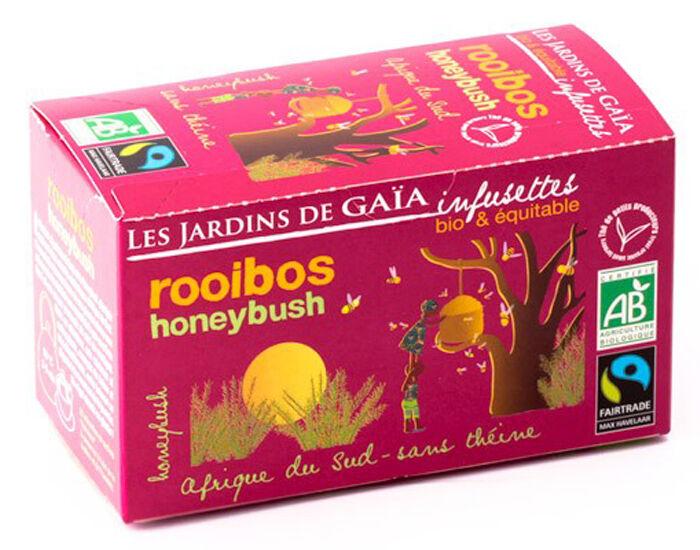 LES JARDINS DE GAIA Rooibos Honeybush - Infusettes
