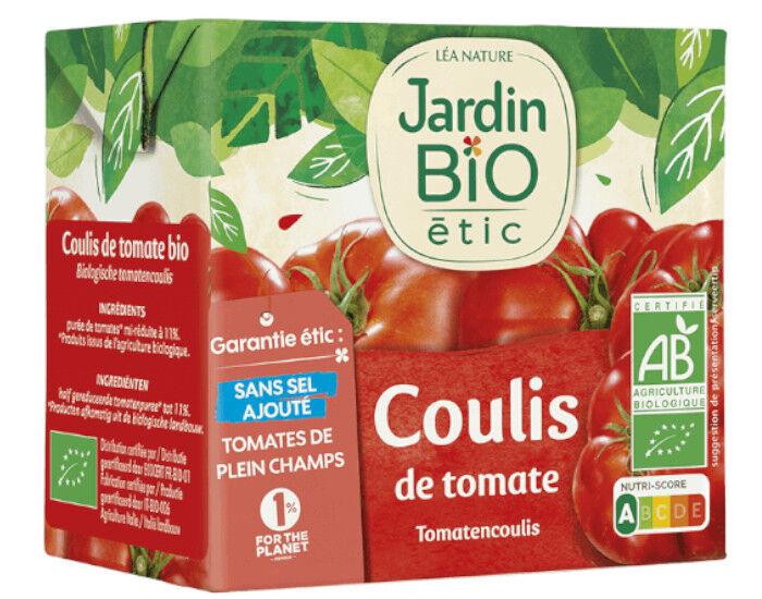 JARDIN BIO Coulis de Tomate - 500 g