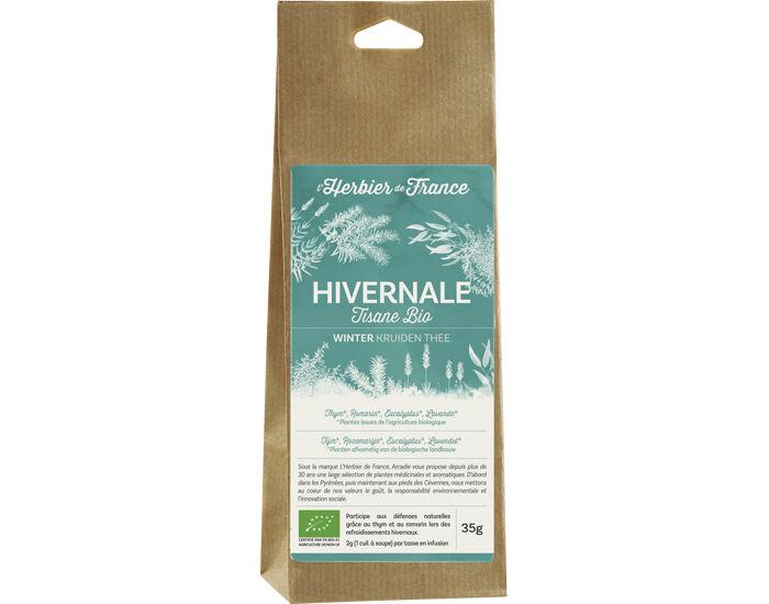 L'HERBIER DE FRANCE Tisane Bio Hivernale - 35g