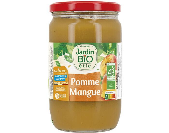 JARDIN BIO Compote Familiale Biofruits Pomme Mangue - 680 g