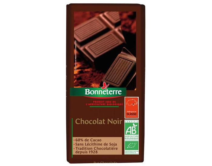 BONNETERRE Chocolat Noir 60% Cacao - 100g