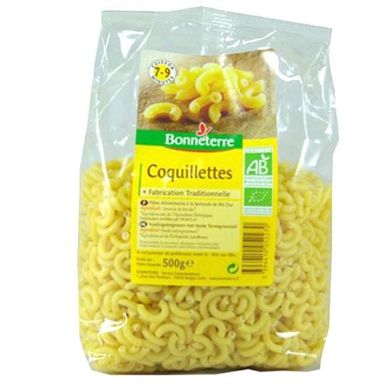 BONNETERRE Coquillettes - Pâtes Blanches - 500g