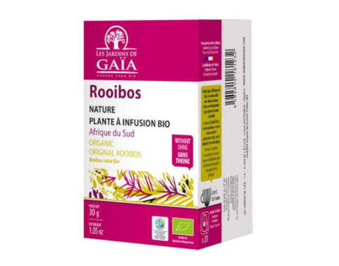 LES JARDINS DE GAIA Rooibos Agrumes - Infusettes