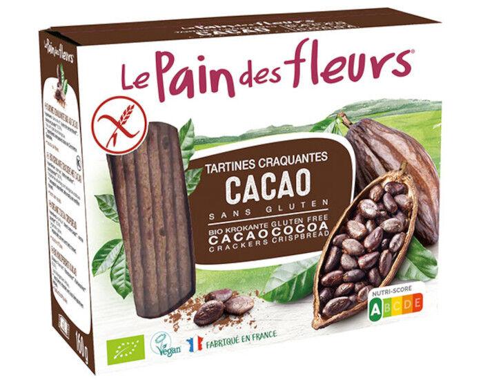 LE PAIN DES FLEURS Tartines Craquantes au Cacao - 150 g