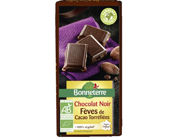 BONNETERRE Chocolat Noir Eclats de Fèves de Cacao - 100g