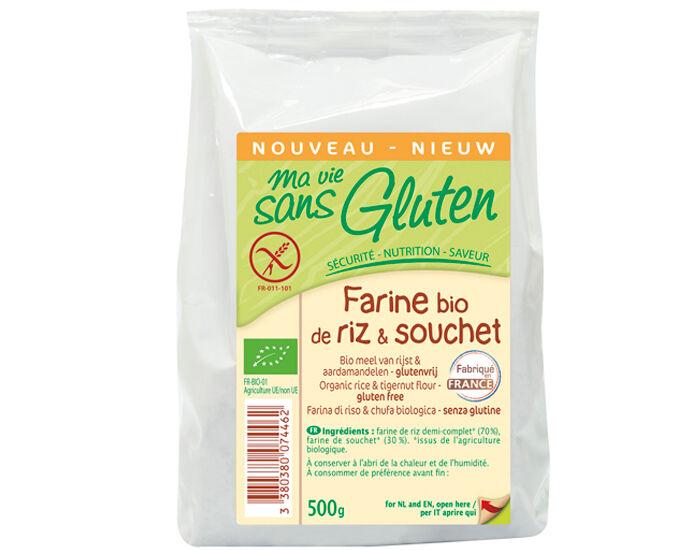 MA VIE SANS GLUTEN Farine de Riz et Souchet - 500 g