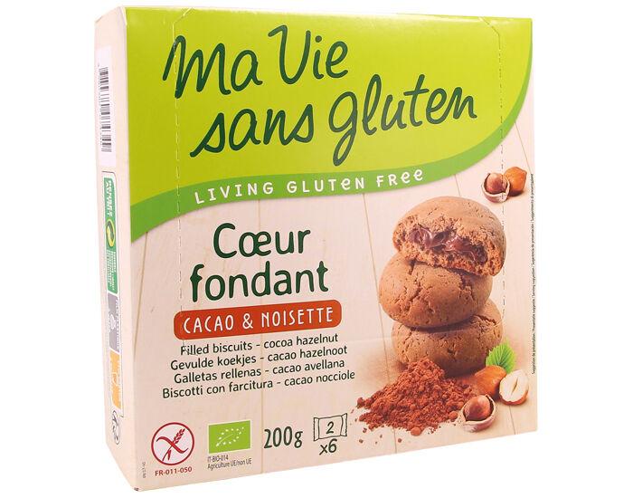 MA VIE SANS GLUTEN Coeur Fondant Cacao et Noisette - 200 g