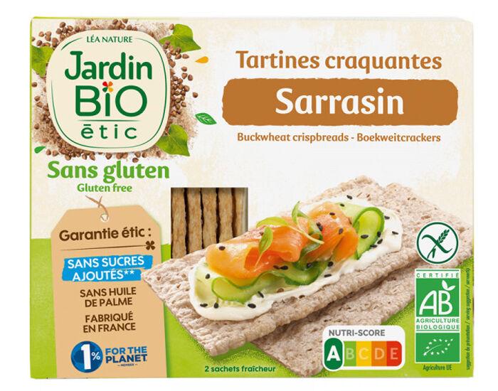 JARDIN BIO Tartines Craquantes Sarrasin Sans Gluten 150 g