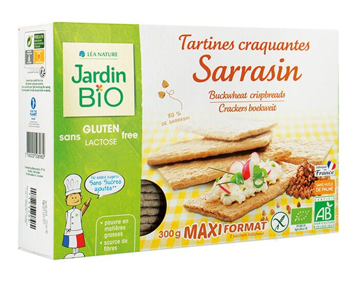 JARDIN BIO Tartines Craquantes Sarrasin Sans Gluten 300 g