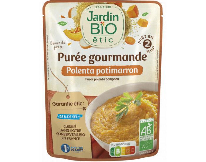 JARDIN BIO Purée de Polenta Potimarron Sans Gluten - 250 g