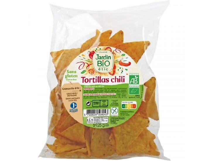 JARDIN BIO Tortillas Chili Sans Gluten - 125 g