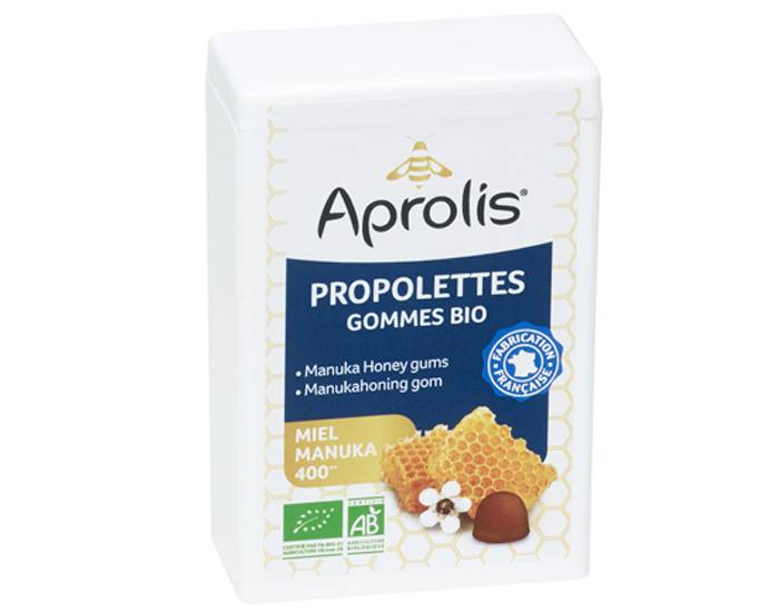 APROLIS Propolettes - Gommes Miel de Manuka Propolis - 50 g