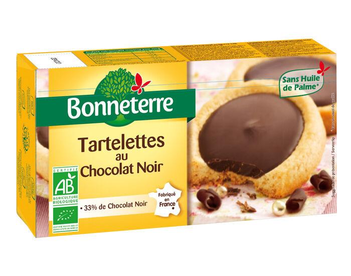 BONNETERRE Tartelettes Chocolat Noir - 125g