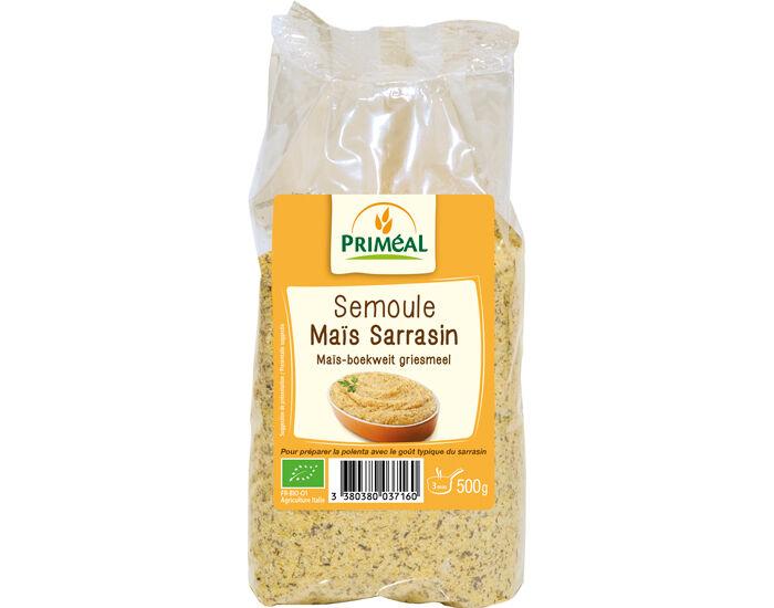 PRIMEAL Semoule de Maïs et Sarrasin - 500 g