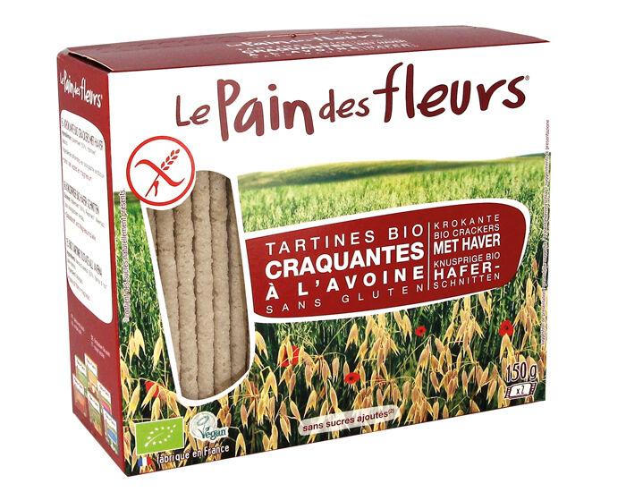 LE PAIN DES FLEURS Tartines Craquantes à l'Avoine - 150 g