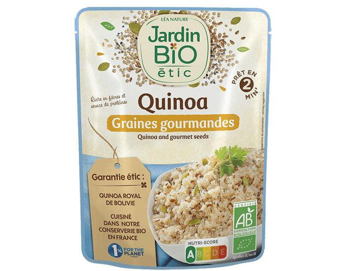 JARDIN BIO Quinoa Graines Gourmandes Sans Gluten - 250 g
