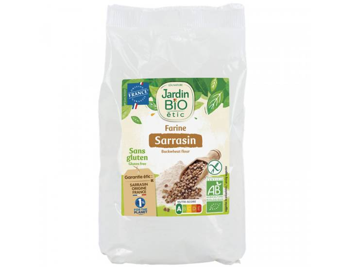 JARDIN BIO Farine de Sarrasin Sans Gluten - 400 g