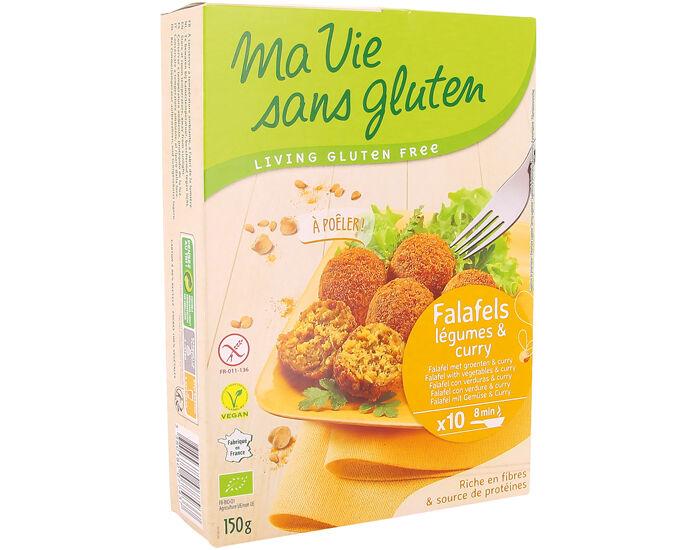 MA VIE SANS GLUTEN Falafels aux Légumes et Curry - 150 g