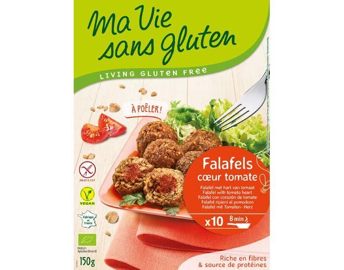 MA VIE SANS GLUTEN Falafels Coeur Tomate - 150 g