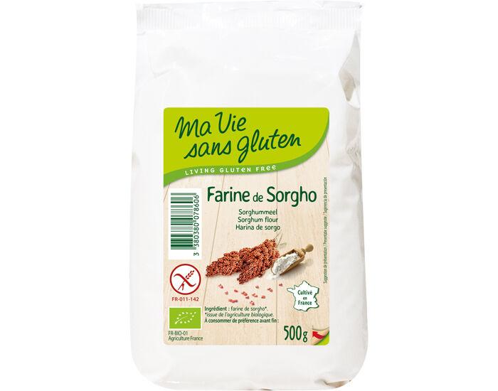 MA VIE SANS GLUTEN Farine de Sorgho - 500 g