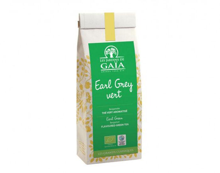 LES JARDINS DE GAIA LES JARDINS DE GAÏA Thé Vert - Earl Grey Vert Bergamote - 100 g
