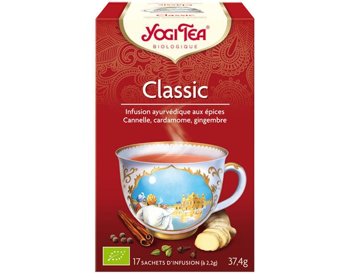 YOGI TEA Tisanes en Sachet - Classic - 17 Sachets