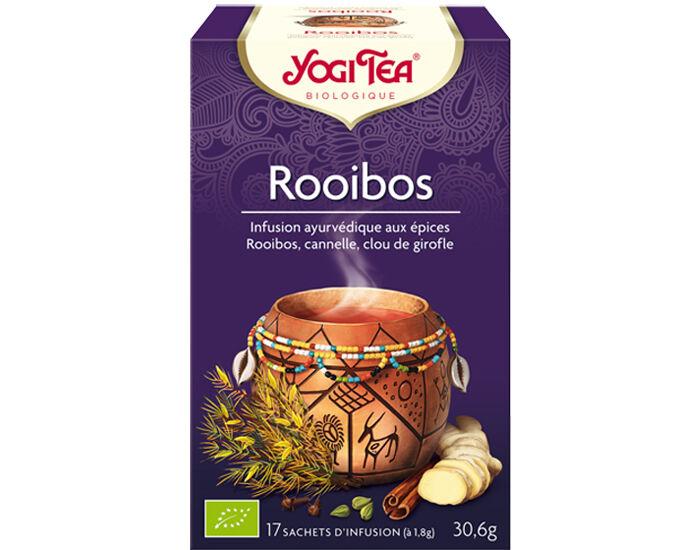YOGI TEA Tisanes en sachet - Rooibos - 17 Sachets