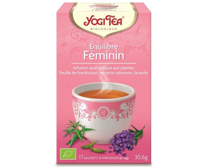 YOGI TEA Tisanes en sachet - Equilibre Féminin - 17 Sachets