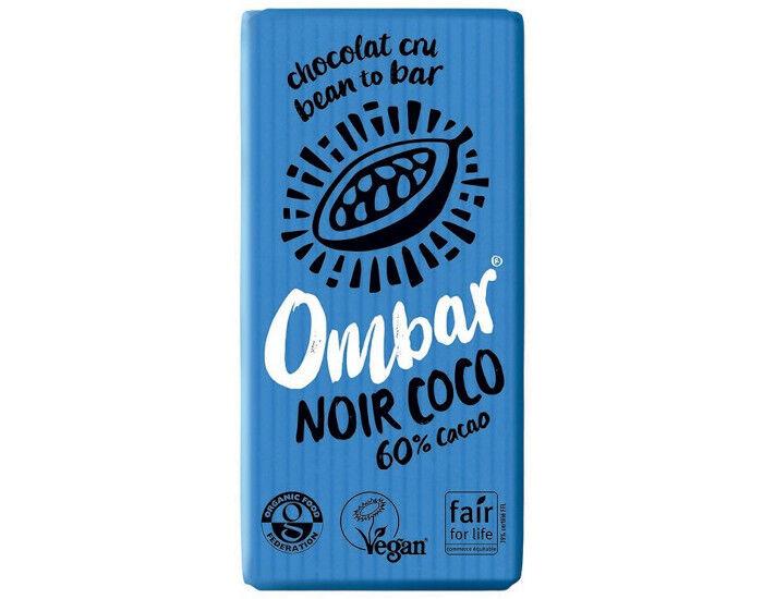 OMBAR Chocolat Noir Coco Cru - 35 g