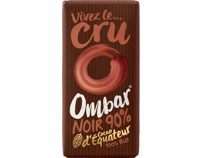 OMBAR Chocolat 90% Cacao Cru - 35 g