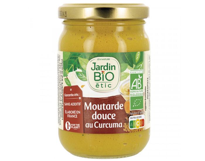JARDIN BIO Moutarde Douce au Curcuma - 210 g