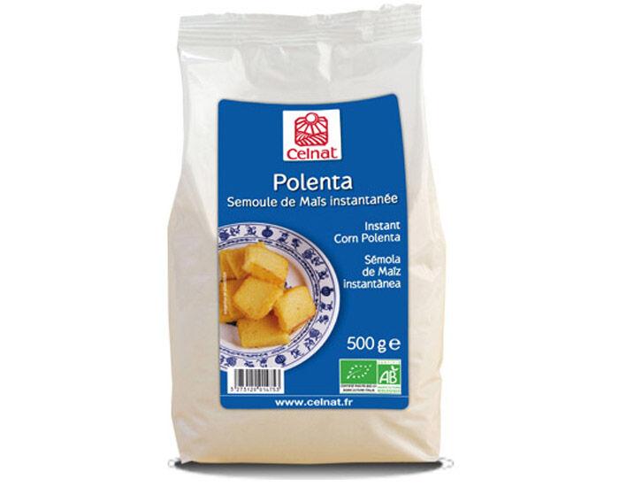 CELNAT Polenta Semoule Maïs Complète - 500 g