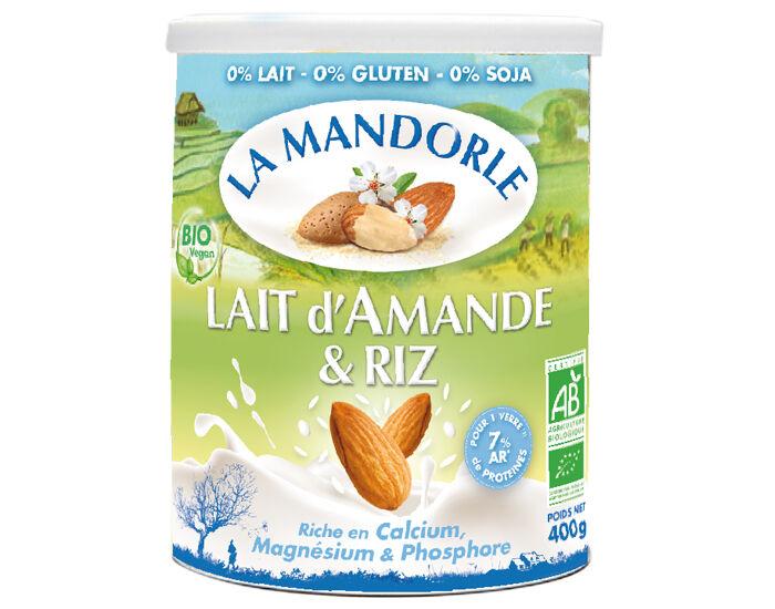 LA MANDORLE Lait d'Amande et Riz - 400 g