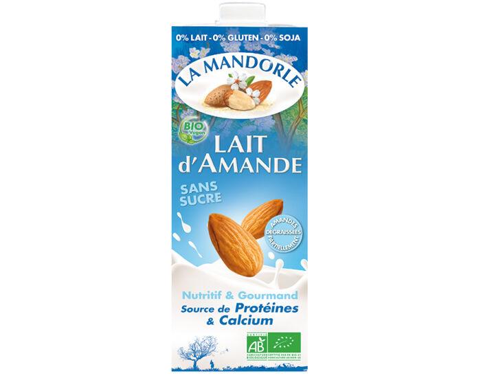 LA MANDORLE Lait d'Amande Sans Sucre - 1 L