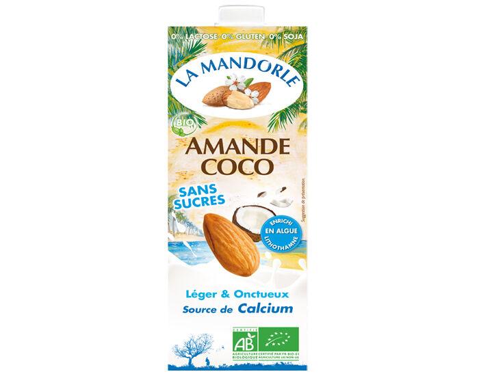LA MANDORLE Lait Amande Coco - 1 L
